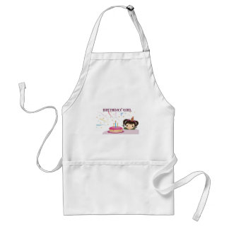 Birthday Girl Standard Apron