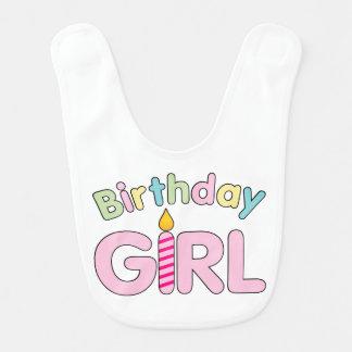Birthday Girl baby bib