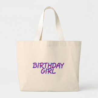 Birthday Girl Canvas Bags