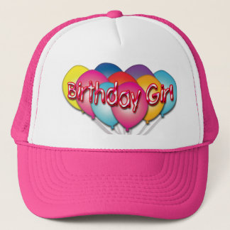 Birthday Girl Balloons Hat