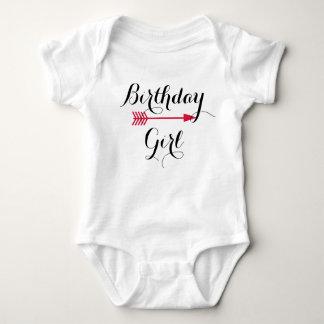 Birthday Girl - Boho Red Arrow - Customize Baby Bodysuit