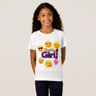 Birthday Girl (emojis) T-Shirt