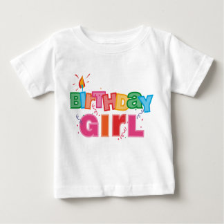 Birthday Girl Letters Baby T-Shirt