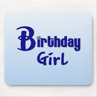 Birthday Girl Mousepads