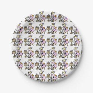 Birthday Girl Paper Plates