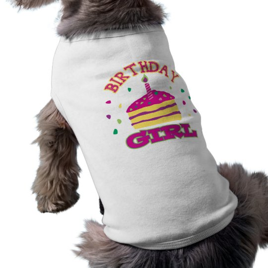Birthday Girl Pet Clothing