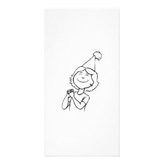 Birthday Girl Photo Card Template