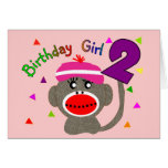 Birthday Girl --Two Year Old Cards