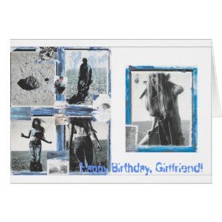 Birthday Girlfriend Greeting Card