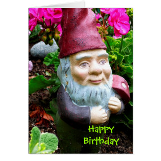 Birthday Gnome Card