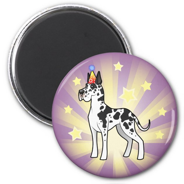 GREAT DANE Clean Dirty DISHWASHER MAGNET No 3 Dog
