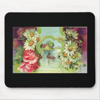 Birthday Greetings Mouse Pad