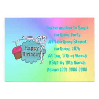 Birthday Happy Birthday Personalized Invite