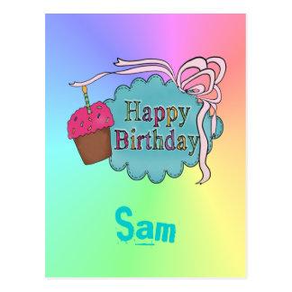 Birthday Happy Birthday Post Card