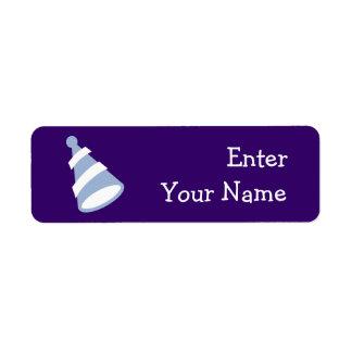 Birthday Hat Return Address Label