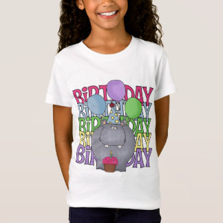 Birthday Hippo Children's Gift T-Shirt