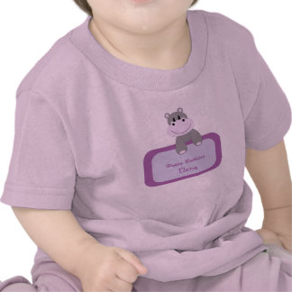 Birthday Hippo Infant s T-Shirt