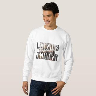 Birthday In October Sweatshirt
