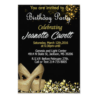 BIrthday Invitaion 9 Cm X 13 Cm Invitation Card