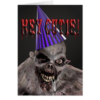 Birthday Invitation from Mutant Zombie in Hat