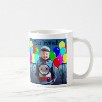 Birthday Invitation Mugs