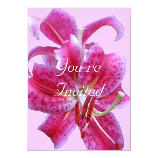 Birthday Invitation--Stargazers Outline Card
