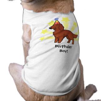 Birthday Irish / English / Gordon / R&W Setter Shirt