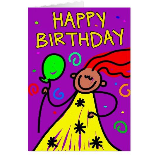 birthday kid card