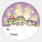 Birthday Leopard Gecko Gift Tags
