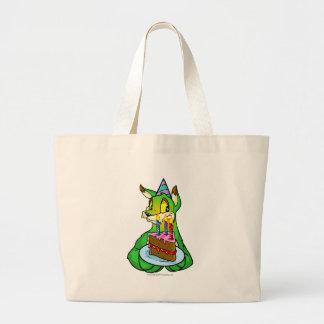 Birthday Lupe Large Tote Bag