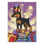 Birthday Miniature Pinscher / Manchester Terrier