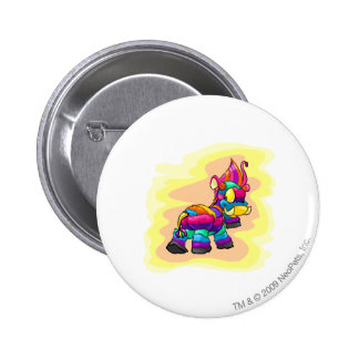 Birthday Moehog 6 Cm Round Badge