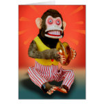 Birthday Monkey Greeting Card