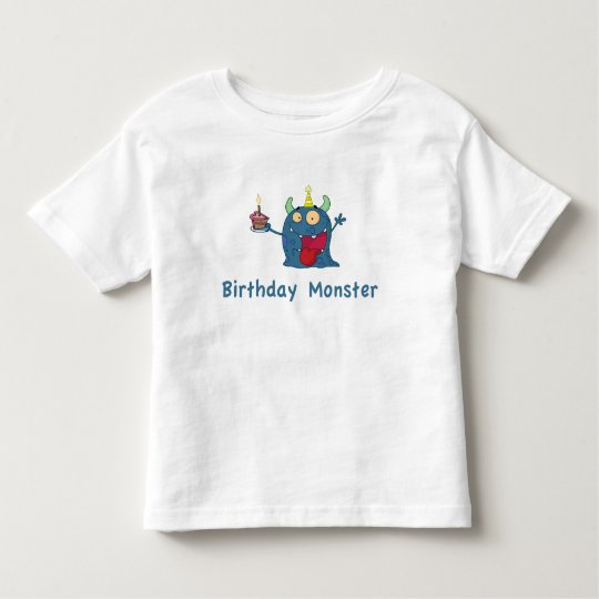Birthday Monster Toddler T-Shirt