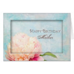 Birthday Mother - Peony (Floral) Greeting Cards