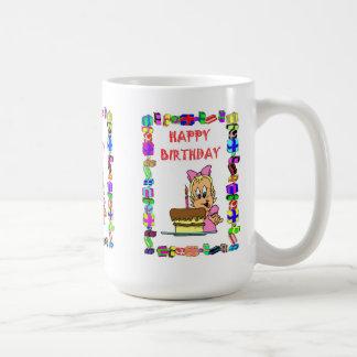Birthday mug - Just one candle