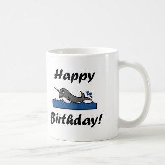 Birthday Narwhal Coffee Mug