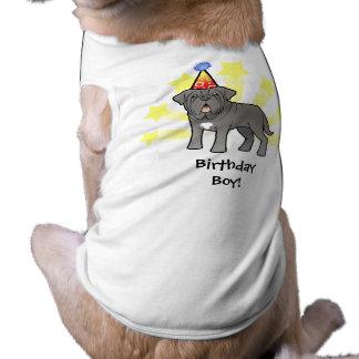 Birthday Neapolitan Mastiff Sleeveless Dog Shirt
