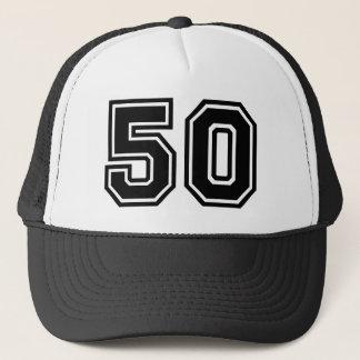 Birthday Number 50 Trucker Hat