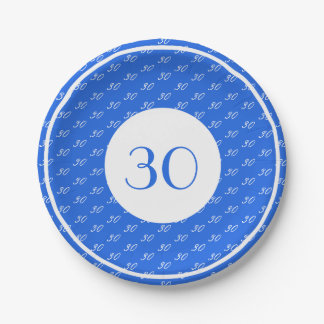 Birthday Number | Paper Plate