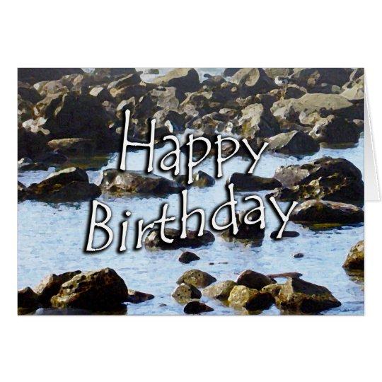 Birthday Ocean Card