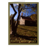 Birthday - Old Virginia Barn No 10 Greeting Card