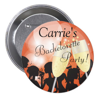 Birthday or Bachelorette Diva Girls Night Out 7.5 Cm Round Badge