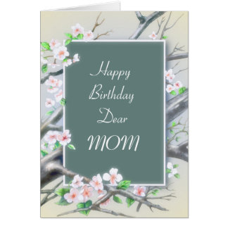 Birthday or Mother's Day Floral Card