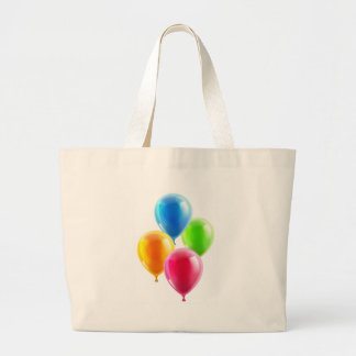 Birthday or party balloons tote bag