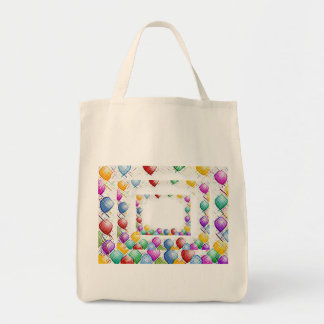 Birthday Parties Grocery Tote Bag