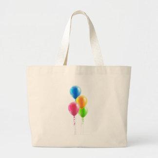 Birthday party balloon set bags