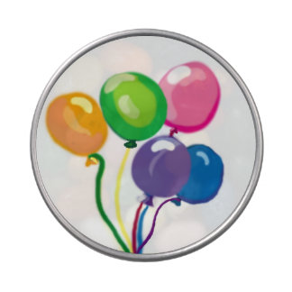 Birthday Party balloons Jelly Belly Candy Tin