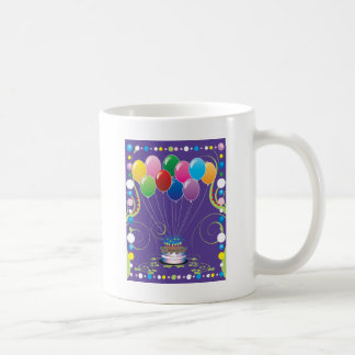 Birthday Party Balloons Mugs
