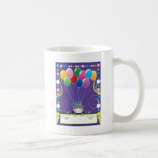 Birthday Party Balloons Coffee Mug
